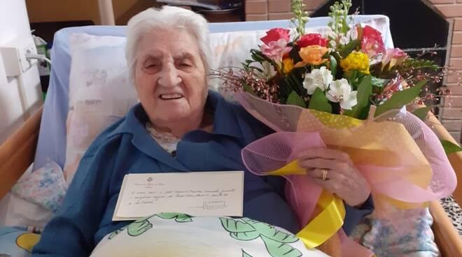 100 anni Lina Giannini Casabasciana
