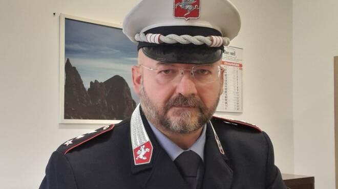 Andrea Giannotti comandante polizia Unione Comuni Garfagnana
