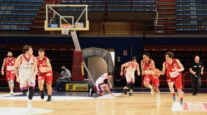 Bc Lucca Montecatini amichevole basket C Gold