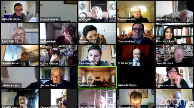 Consiglio comunale Lucca 25/02/2021