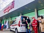 Croce Rossa Castelfranco inaugurazione mezzi