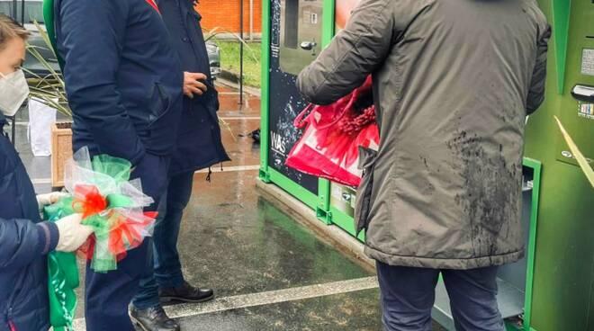 Distributore automatico di pellet a Gallicano