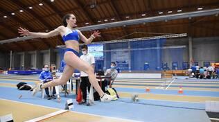 Elisa Naldi salto in lungo Virtus Lucca