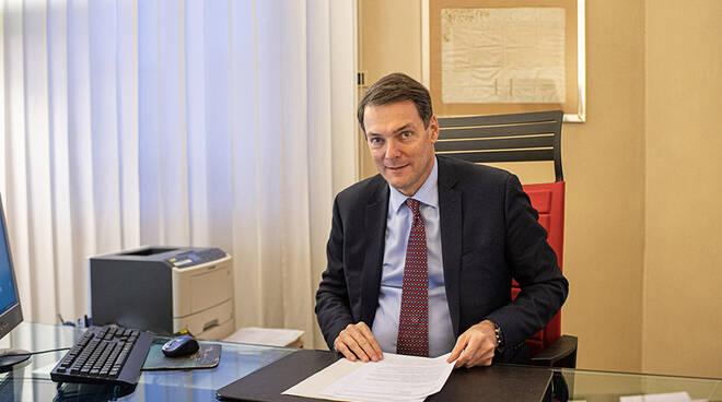 Federico Pietrini direttore generale Banca del Monte di Lucca foto Alcide