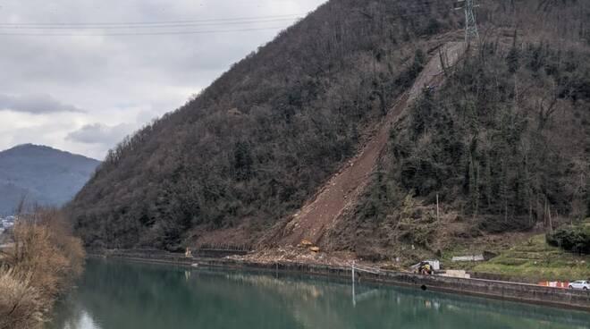 Frana sul Brennero