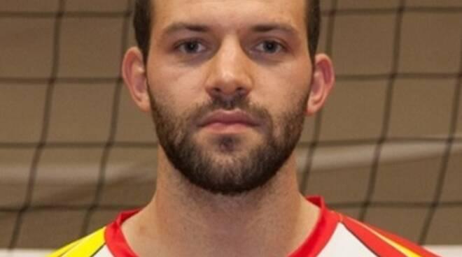 Francesco Bertolini della Folgore pallavolo San Miniato