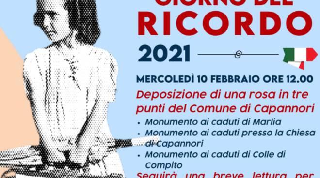 giornata del ricordo centrodestra Capannori