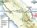 mappa Tirreno Adriatico Lido di Camaiore