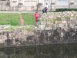 pericolo rudere interno porta San Donato