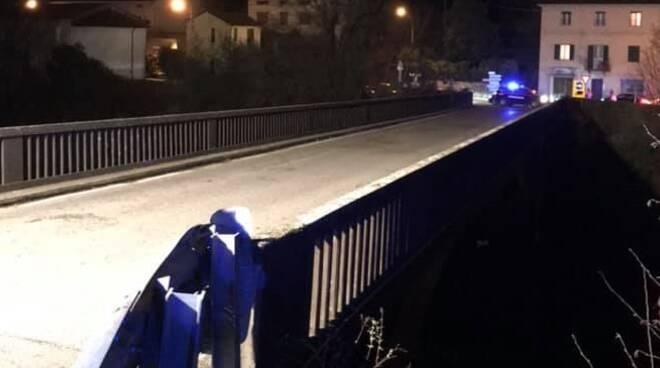 Ponte di Calavorno controllo dei vigili del fuoco