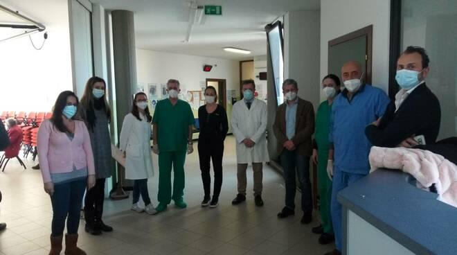 Primi vaccini Pfizer San Miniato e Montopoli