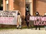 protesta Non una di meno farmacia Ponte del Giglio