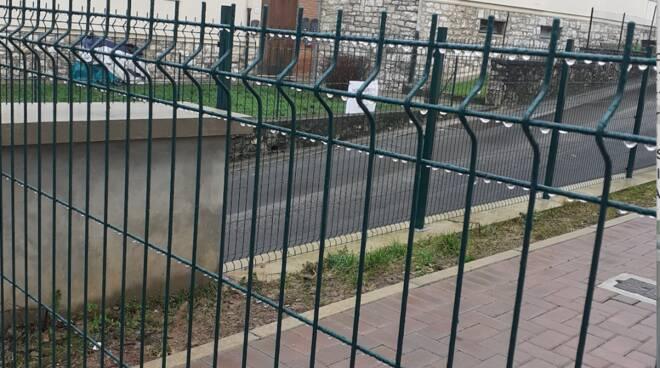 recinzione scuola Borgo a Mozzano
