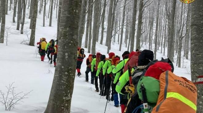 Recuperata la salma dell'escursionista caduto sul monte Marmagna