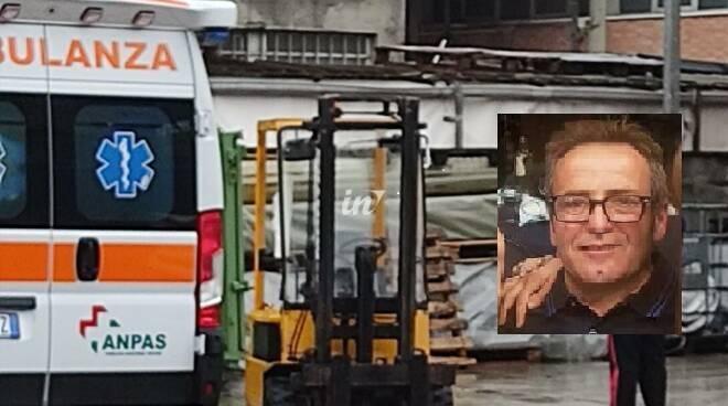 Salvatore Vetere, 51 anni di Capanne di Montopoli Valdarno morto in conceria 1 febbraio 2021