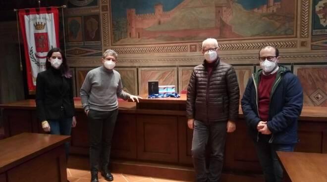 saturimetri e sonda dono del Rotary Club di San Miniato