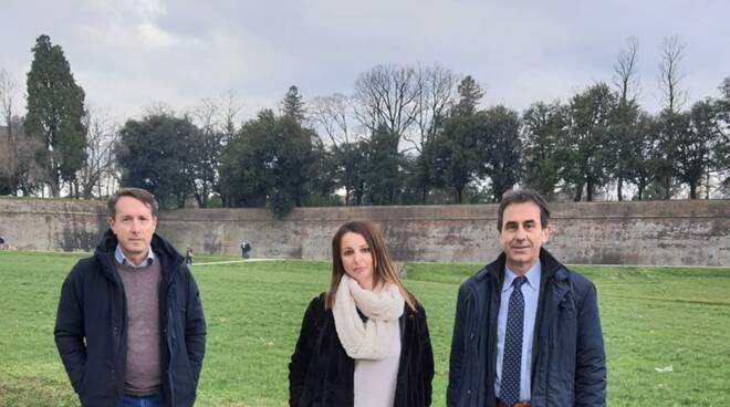 SiAmo Lucca fronte Mura