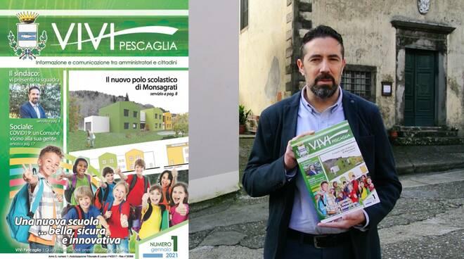 sindaco Andrea Bonfanti periodico Vivi Pescaglia