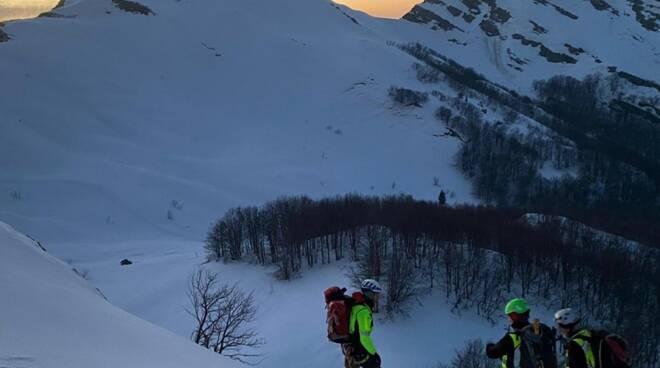 soccorso alpino monte marmagna