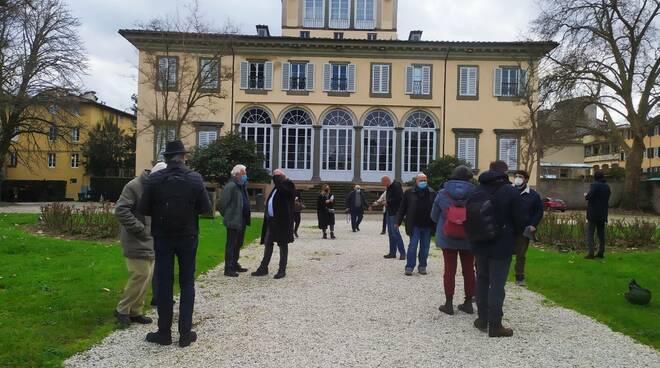 sopralluogo commissioni a Villa Bottini