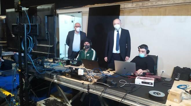 studio televisivo Cavallerizza