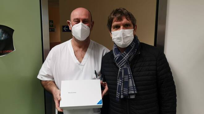 Tablet donato al San Luca