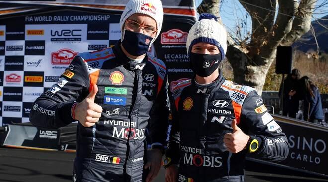 Thierry Neuville pilota ufficiale Hyundai al Ciocco
