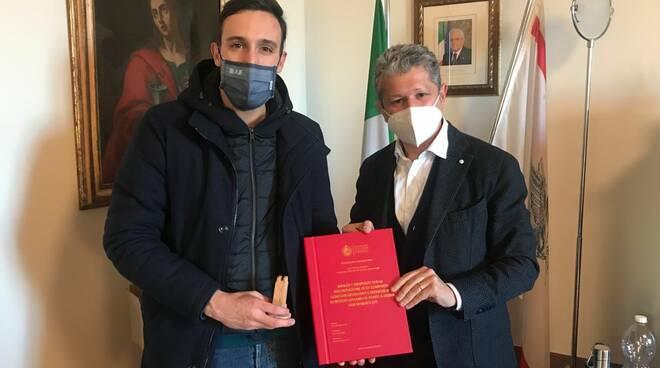 Tommaso Pannocchia e Simone Giglioli