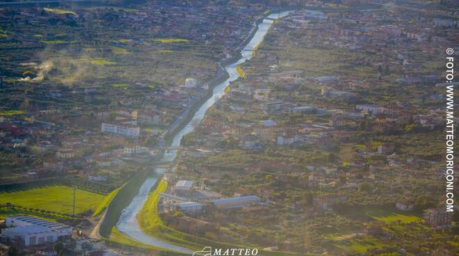 versilia foto dall'alto di Matteo Moriconi