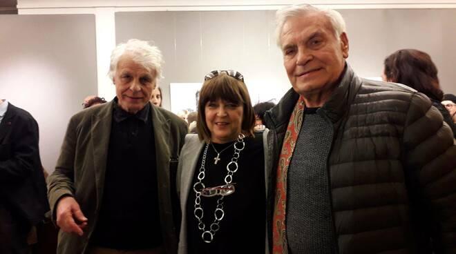 Vincenzo Placido con Marcello Pera e con il fratello Michele
