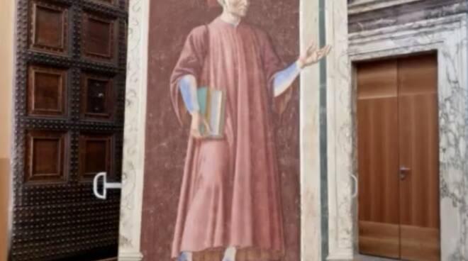 affresco Dante Andrea del Castagno