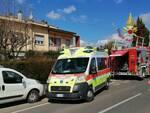 appartamento a fuoco ad Arezzo