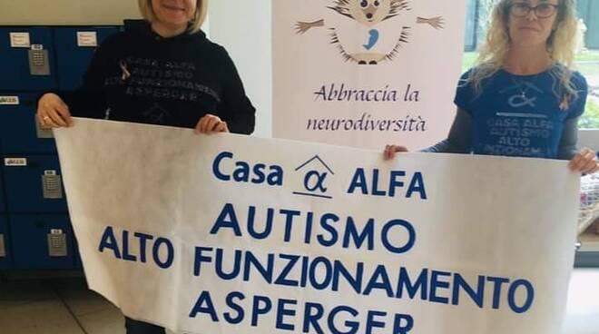 Autistici Casa Alfa evento Noi Tv Lucca