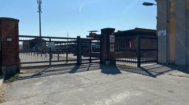 cancello piazzale Ricasoli sottopasso stazione