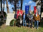 cerimonia in ricordo di Alberto Dani di Santa Croce e Remo Bertoncini di Castelfranco