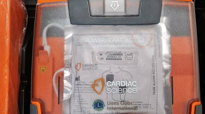 Defibrillatore Lions Garfagnana