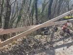 Degrado strada per Brucciano