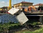 demolizione passerella ponticelli