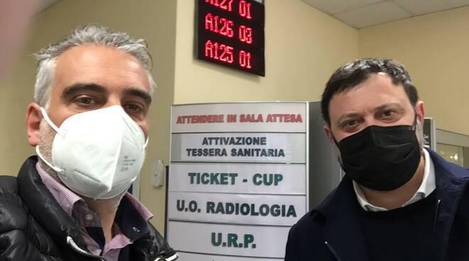 Diego Petrucci e Vittorio Fantozzi