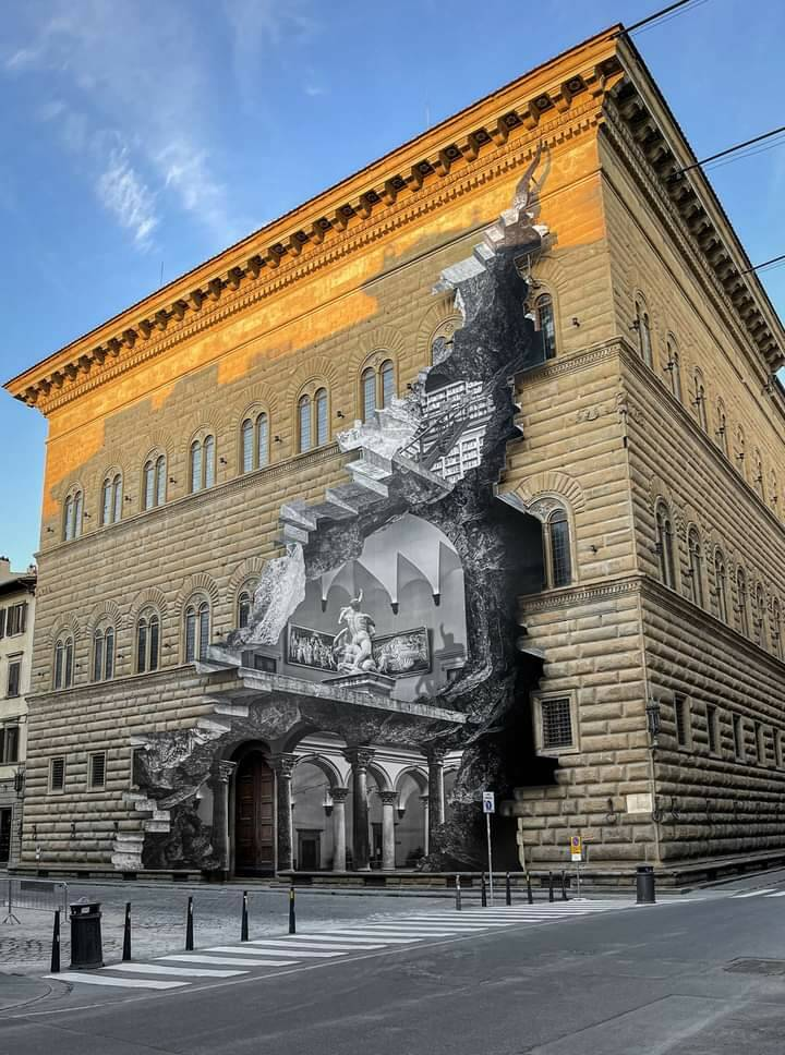 Ferita JR Palazzo Strozzi