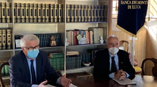 Fondazione Banca del Monte di Lucca nuovo presidente Palestini Landucci