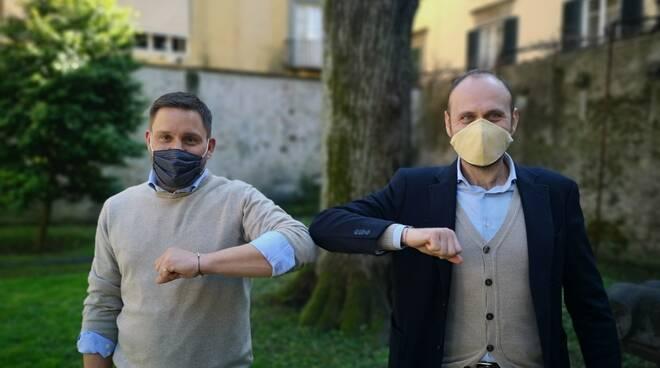 Gabriele Bove e Daniele Bianucci
