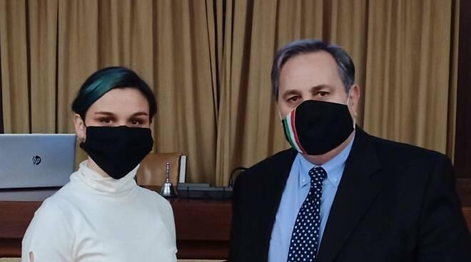 Gaia Pellegrini e Alessandro Lambertucci