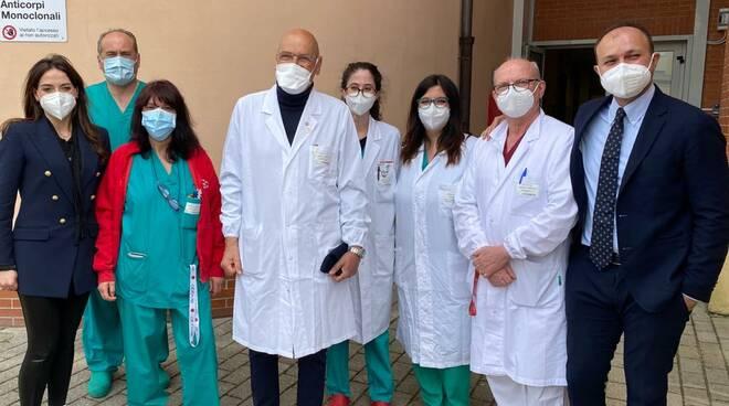 Giani a Cisanello ambulatorio monoclonale