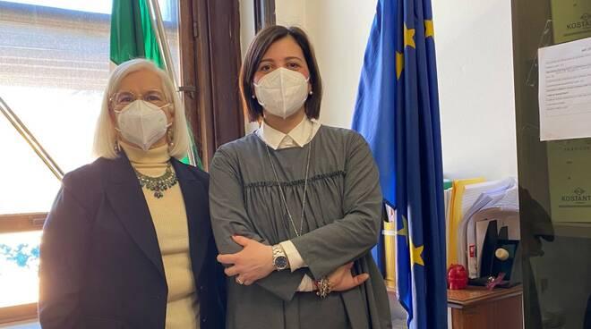 Giulia Deidda e Maria Giuliana Civinini