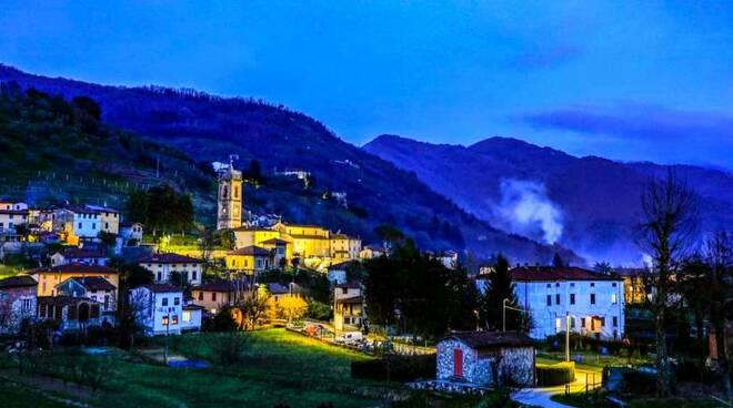 Illuminazione a led Borgo a Mozzano