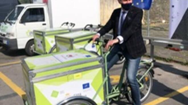 Inaugurate le tre stagione per le cargo bike