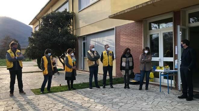 Inaugurazione defibrillatore scuola di Fornoli