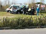 incidente rotatoria melograno pontedera 18 marzo 2021 foto Damiani