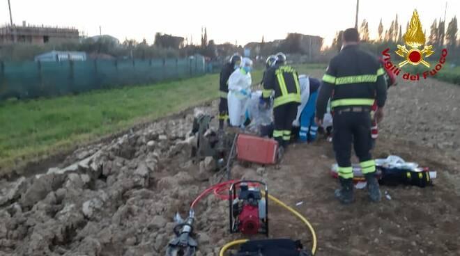 incidente trattore san miniato basso 15 marzo 2021